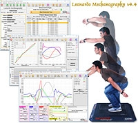 Option: Leonardo Mechanography v4.4 Research Software