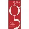 Rotes Galileo<sup>®</sup> Training Hängebanner inkl. Alu-Profilen mit Aufhängern.