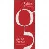 Rotes Galileo<sup>®</sup> Therapy Hängebanner mit Alu-Profilen mit Aufhängern.