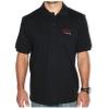 Herren-Poloshirt mit gesticktem Logo, Größe M