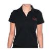 Damen-Poloshirt mit gesticktem Logo, Größe S